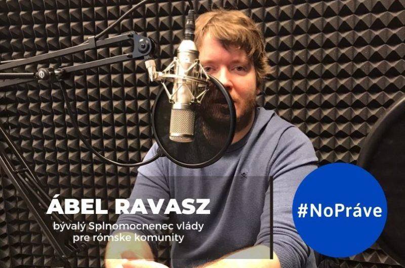 Ábel Ravasz v štúdiu podcastu NoPráve